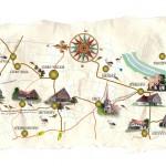mapa Szlak domow podcieniowych